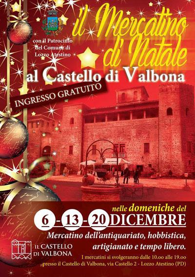 Il Mercatino di Natale al Castello di Valbona