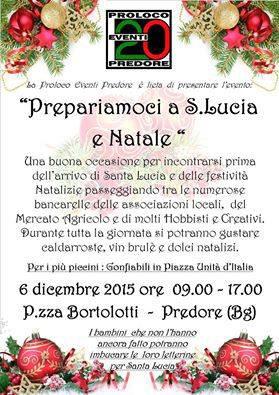 Prepariamoci a S. Lucia e al Natale