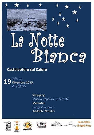 Notte Bianca a Castelvetere sul Calore