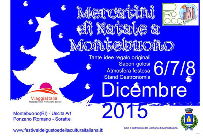 Mercatini di Natale a Montebuono