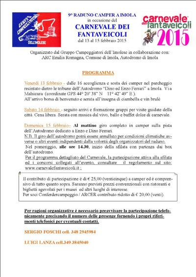 IX Raduno Camper a Imola